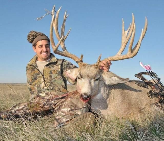 Record Muley Taken in South Dakota