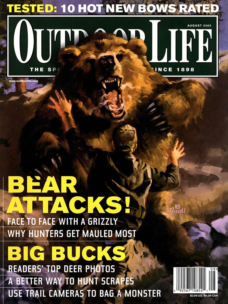August 2003 Cover of Outdoor Life