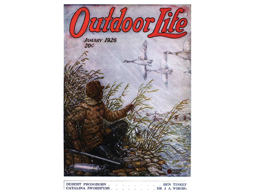 January 1926 cover of Outdoor Life