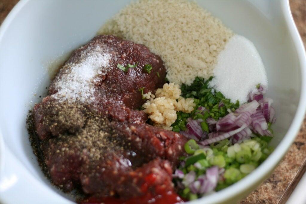 venison meatball ingredients