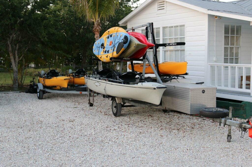 kayak fishing florida