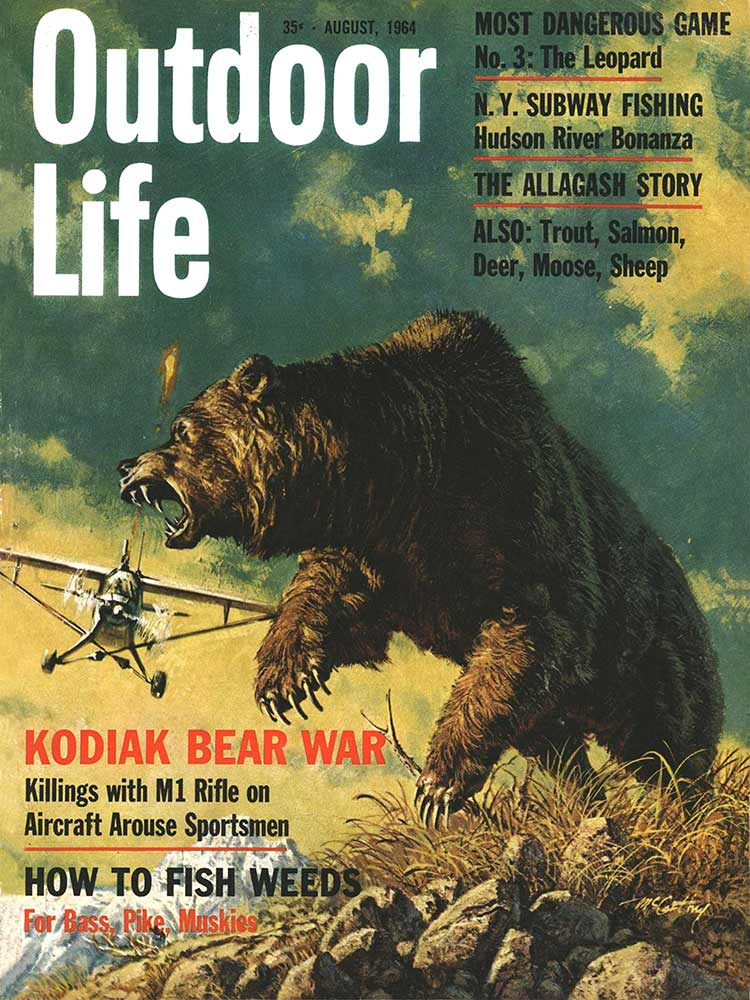 August 1964 Cover of Outdoor Life