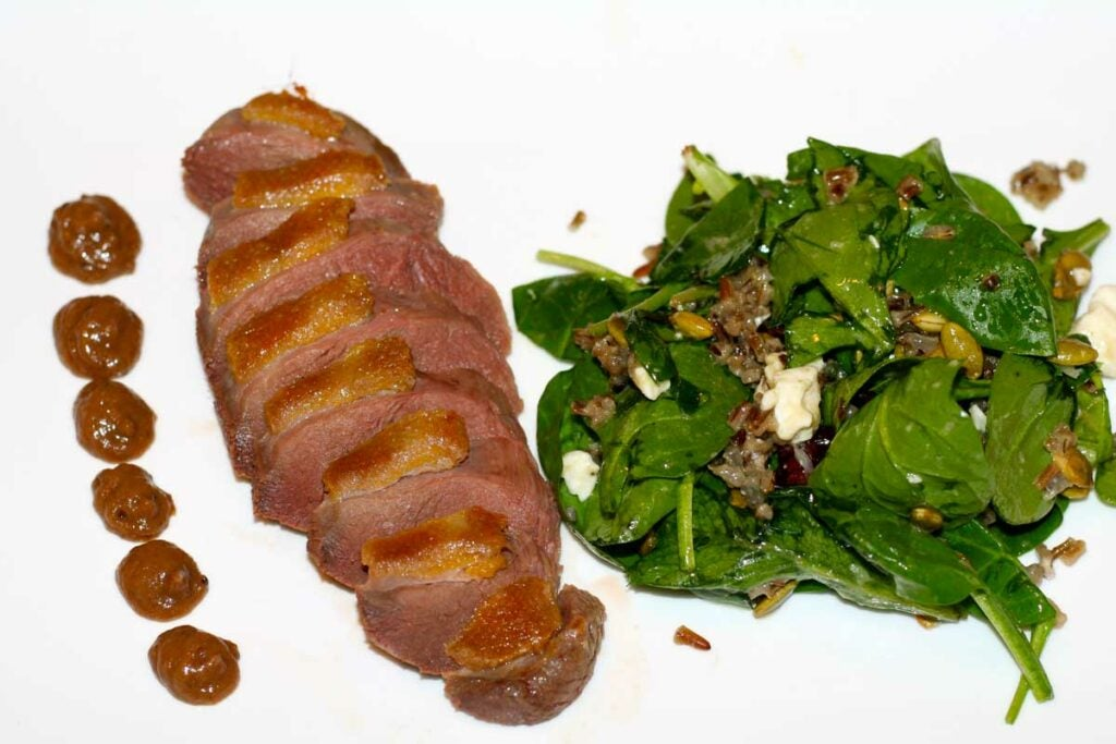 cured wild duck breast