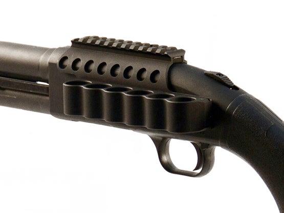 Mesa Tactical's New Shotshell Carrier and Optics Rail for Mossberg Shotguns