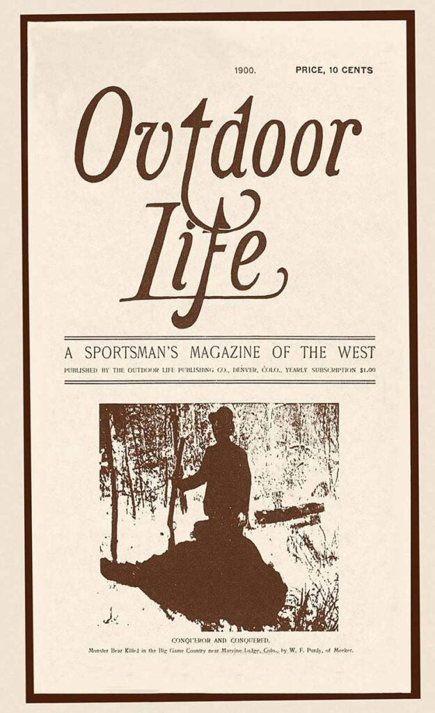 Cover of the 1900 issue of Outdoor Life