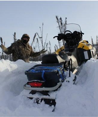 Buried in Alaska