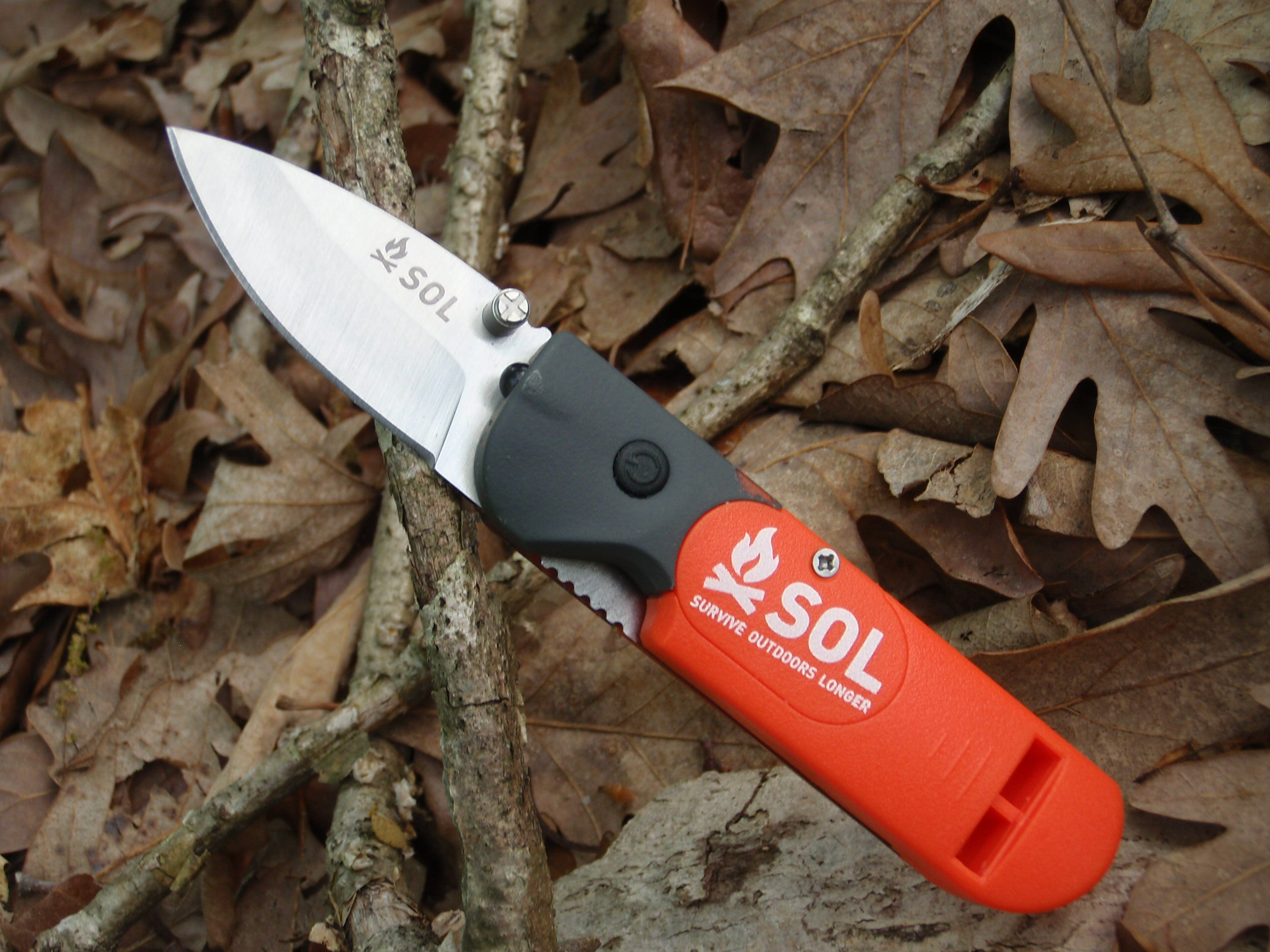 New 3-in-1 Survival Knife