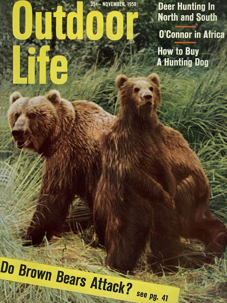 November 1958 Cover of Outdoor Life