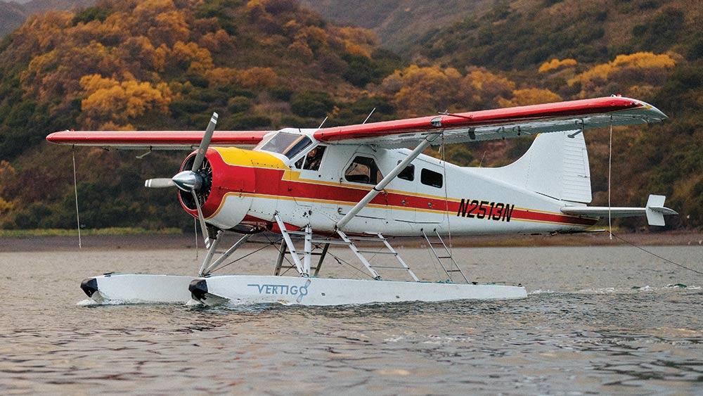 Island transport floatplane