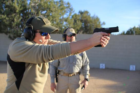 Shooting Slam: Day 1 at Gunsite Academy