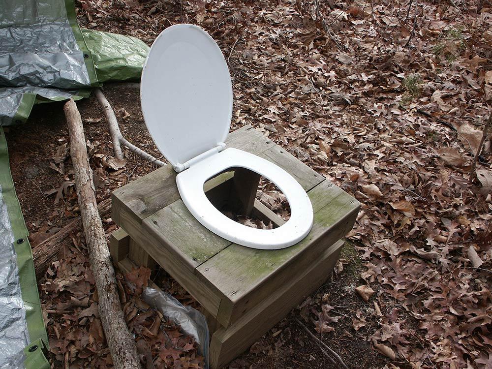 camp latrine