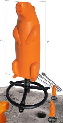 New 3D Prairie Dog Targets from Do-All Outdoors Can Eat a Lot of Lead