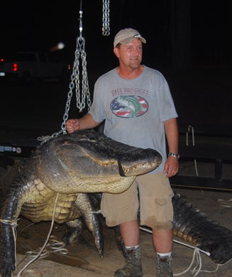 Seven-Man Crew Kills Record 838-Pound Alligator in Alabama