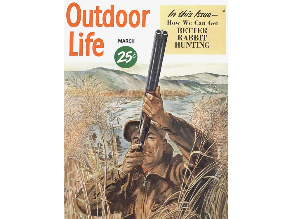 March 1950 cover of Outdoor Life