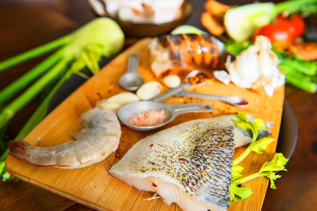 walleye fish soup