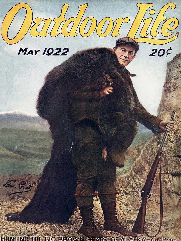 Cover of the May 1922 issue of Outdoor Life