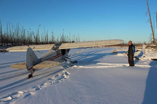 Trapping in Alaska: Why Airplanes Beat Snowmobiles
