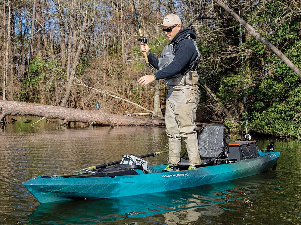 Wilderness Systems ATAK 120 with Helix MD Motor Drive