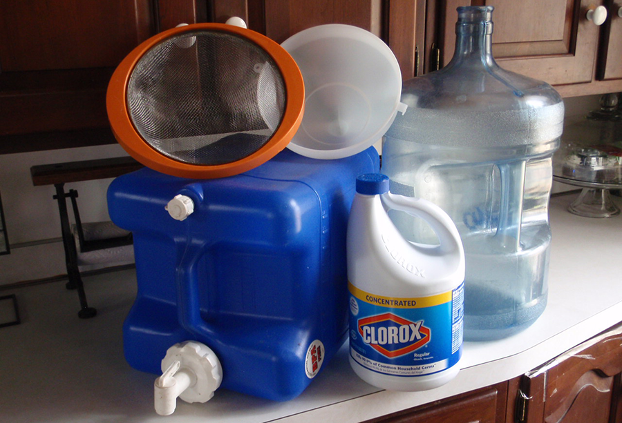 Survival Skills: How To Set Up A Water Storage System
