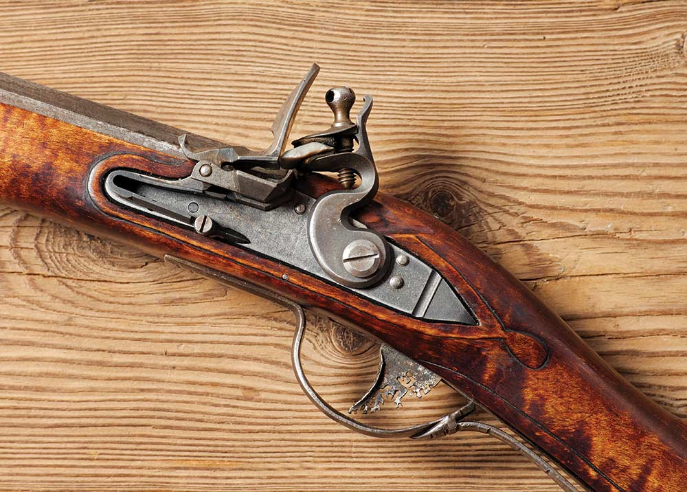 muzzleloader riflerifle detail