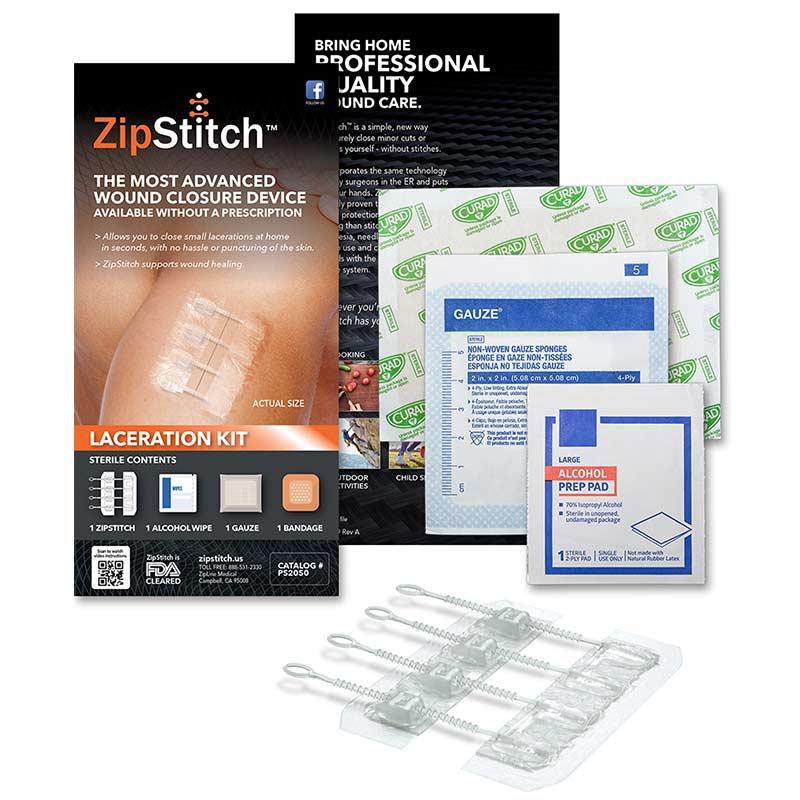 zipstitch wound closure device