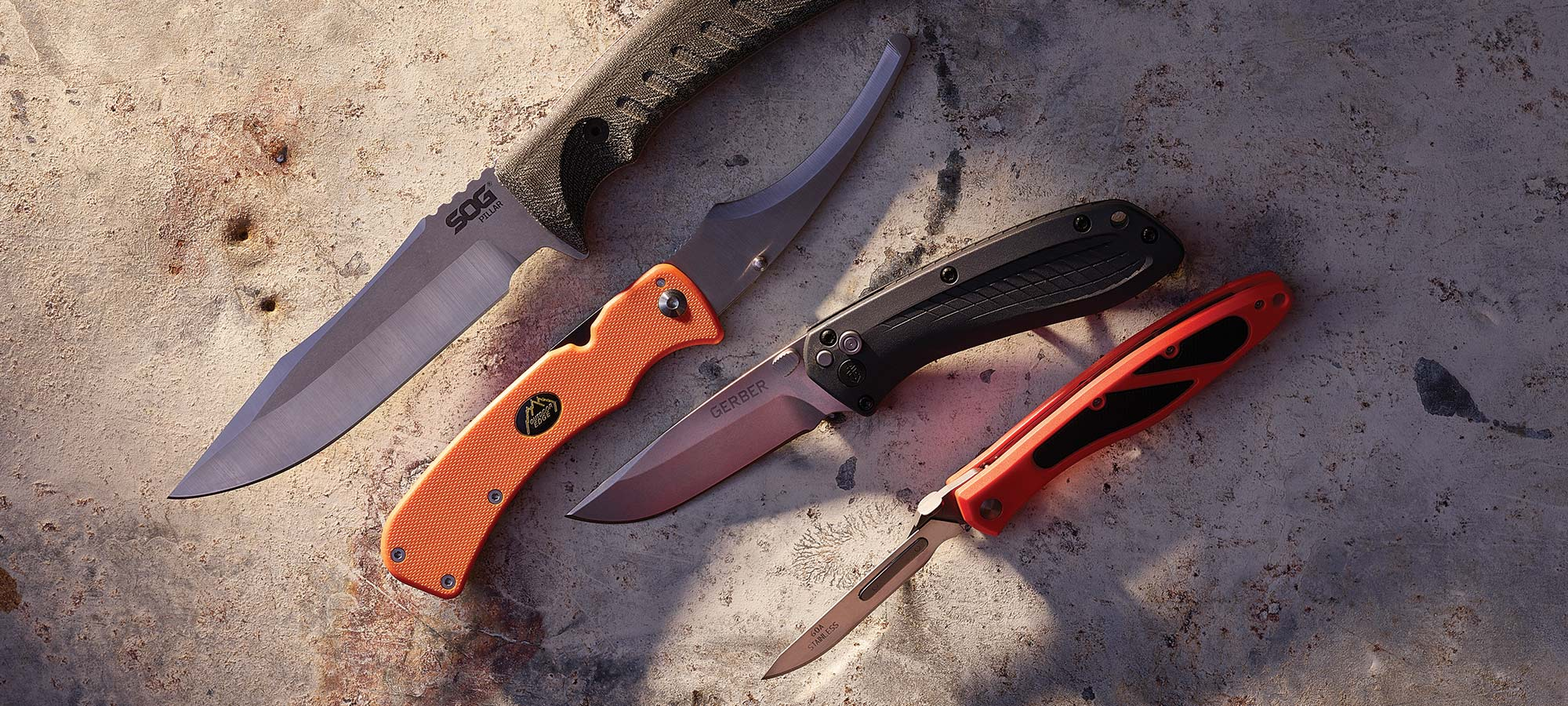 new hunting knives gear test