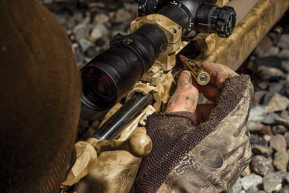 reloading a rifle with a 6 creedmoor