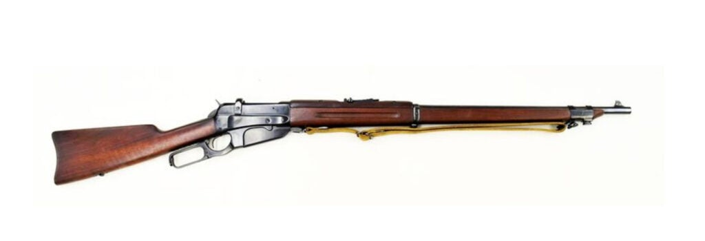 winchester m1895 lever action rifle