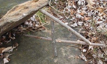 How to Rig a Paiute Deadfall Trap, Step by Step