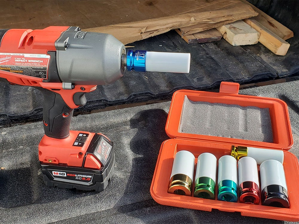 cordless drill and deep well sockets