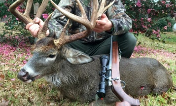 Big Bucks: College Student Tags 171-Inch Mississippi Whitetail