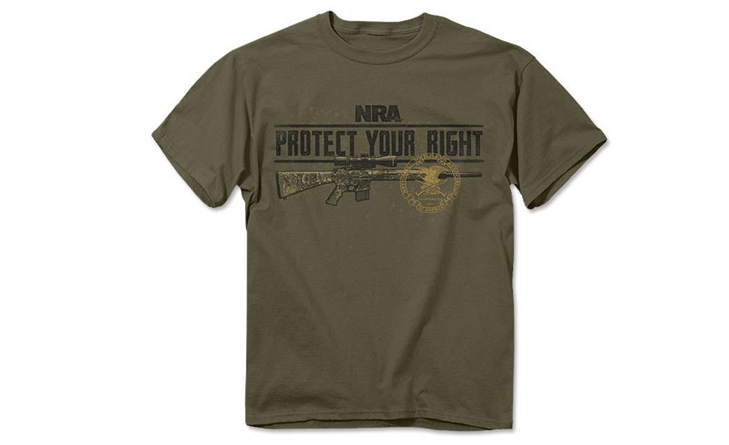 Free Speech and Guns: Son Arrested for Wearing NRA T-Shirt, Mom Sues School