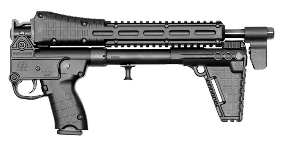 Kel-Tec SUB2000 folded