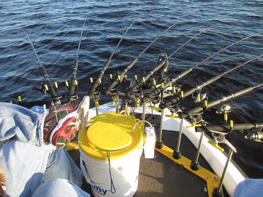 spider rigging fishing rods and reels for crappie fishing
