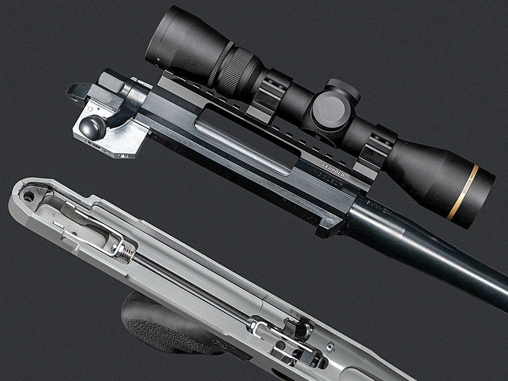 fire-control system of the nosler handgun