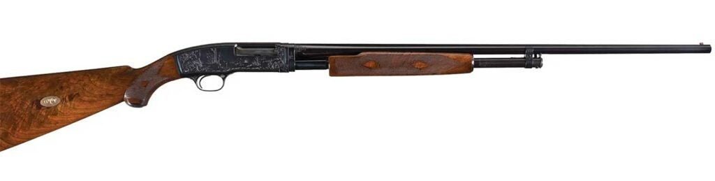 winchester model 42 pigeon grade shotgun