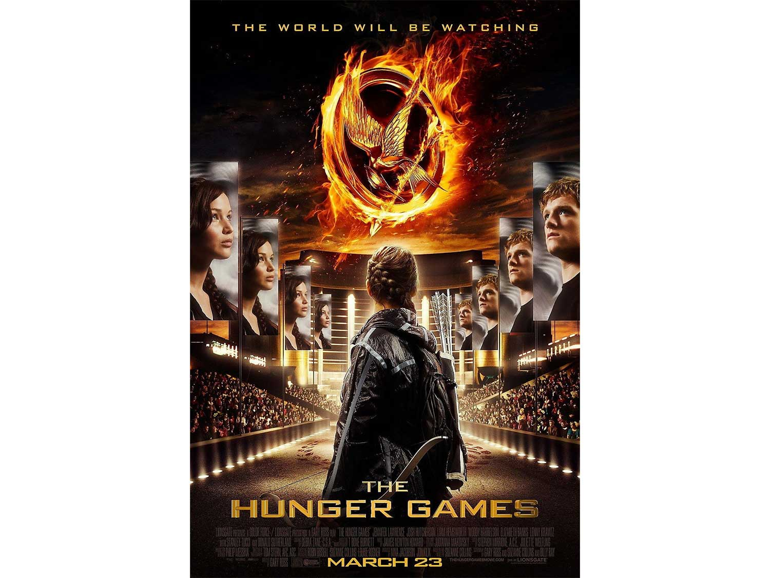 hunger games movie cover