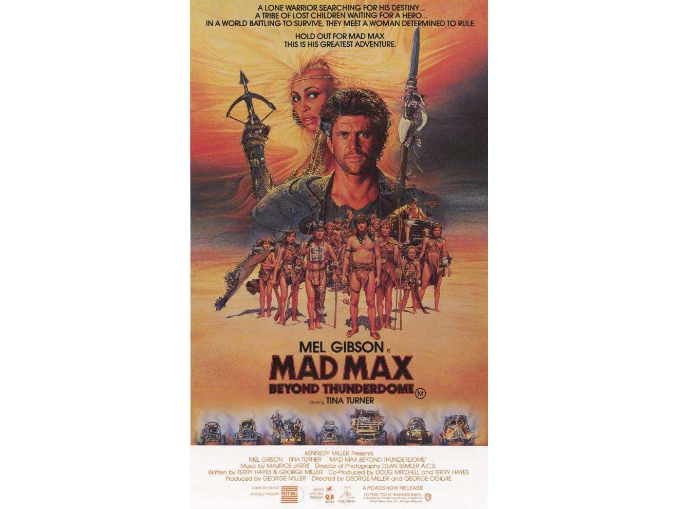 mad max movie cover