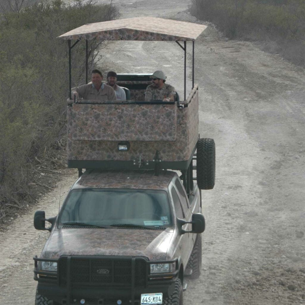 a top drive truck built by South texas outfitters