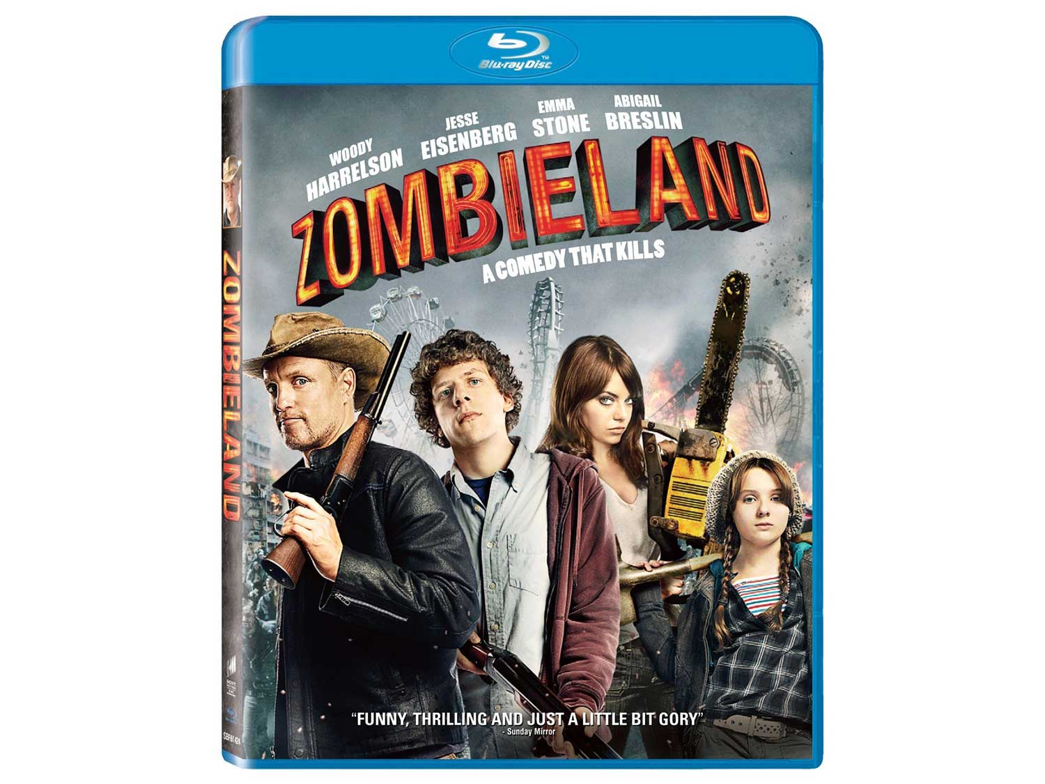 movie cover for zombieland