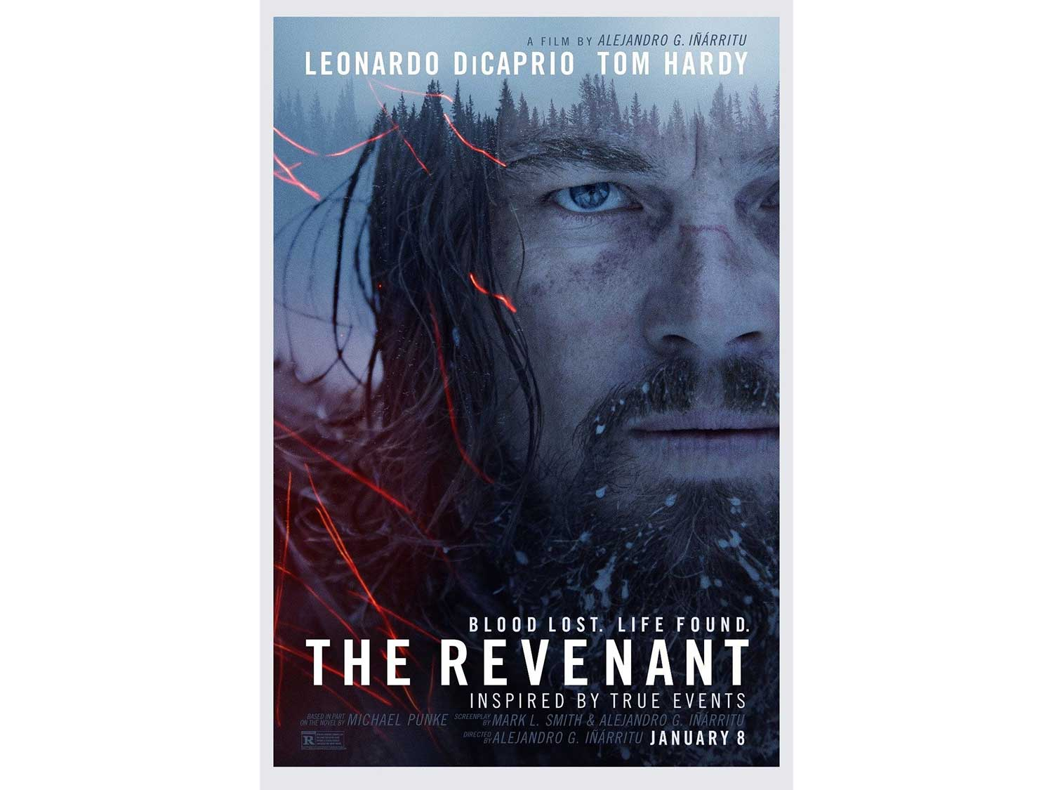 movie cover for the revenant