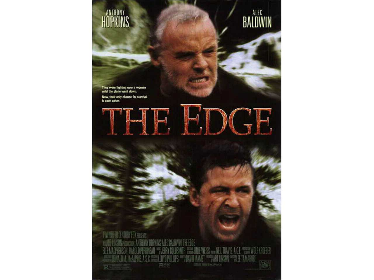 movie cover for the edge