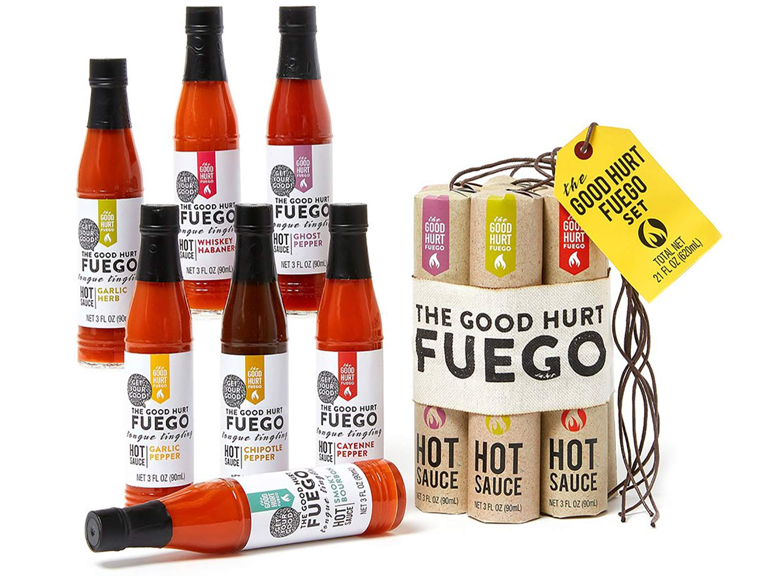 Fuego Hot Sauce Set