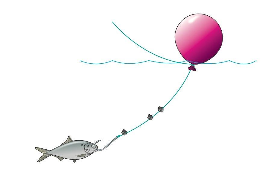 Balloon Rig bait fishing
