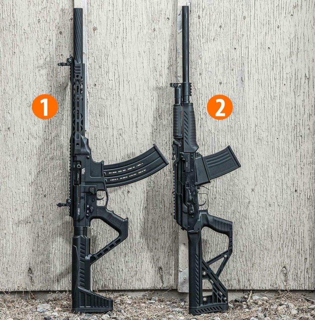 two mag feed shotguns