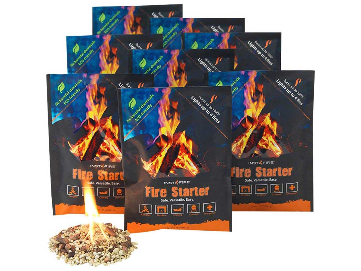 InstaFire Granulated Fire Starter Packs
