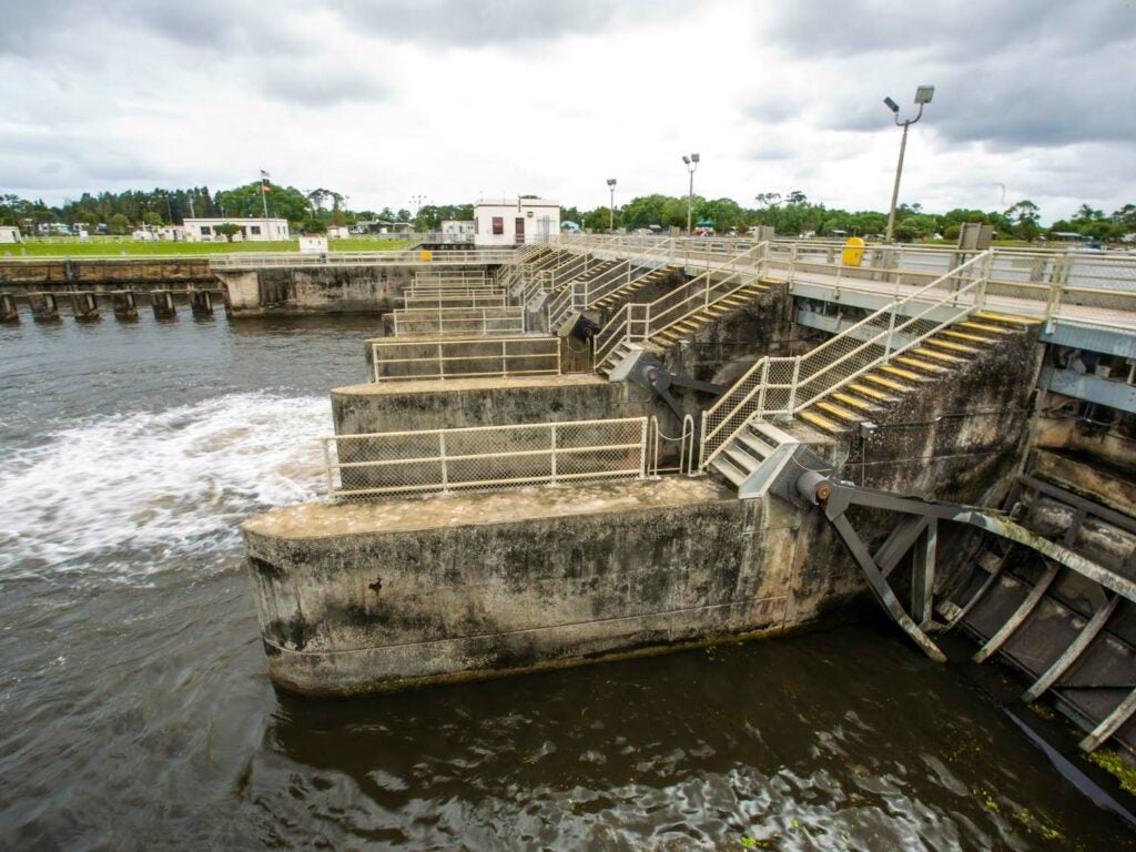 St. Lucie canal lock