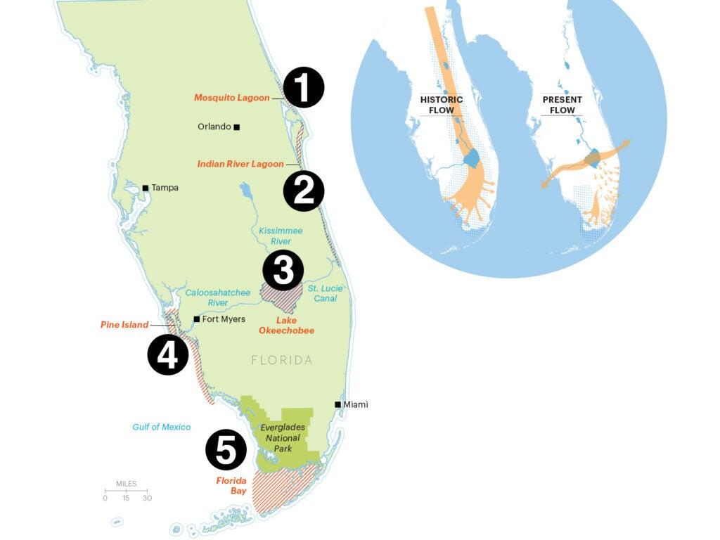 map of florida fishing spots