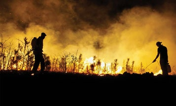 """Make a """"Bow-Range Burn"""" with a Small Prescribed Fire"""