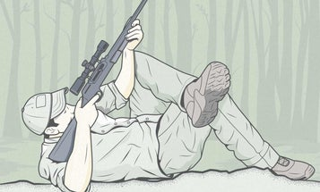 The Best Shooting Position for Picking Off Treed Squirrels